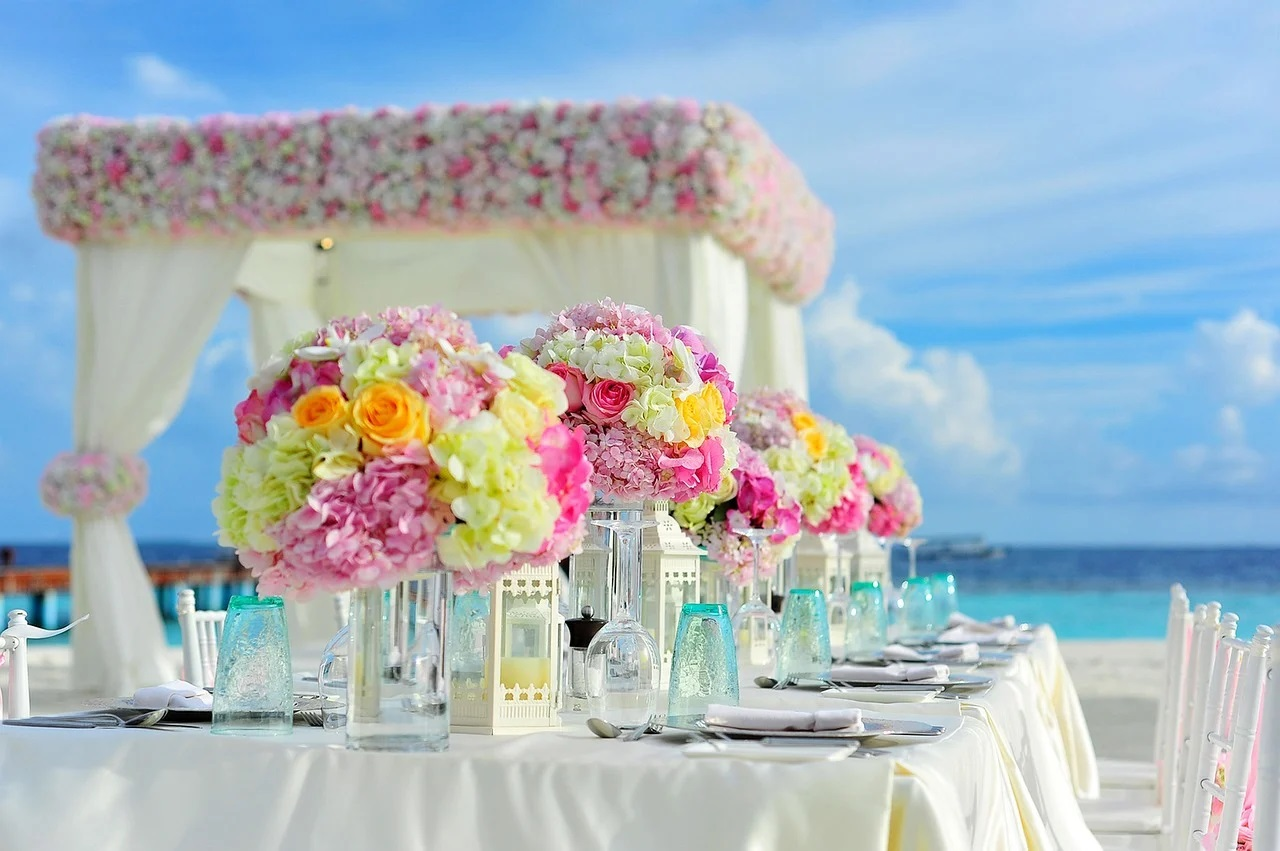 Art de la table, le rôle des fleurs